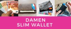 Damen Slimm Wallet – Empfehlungen & Test 2021
