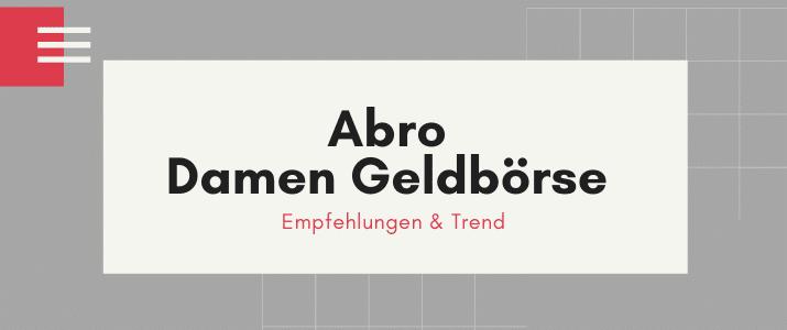 Abro Geldbörse Damen