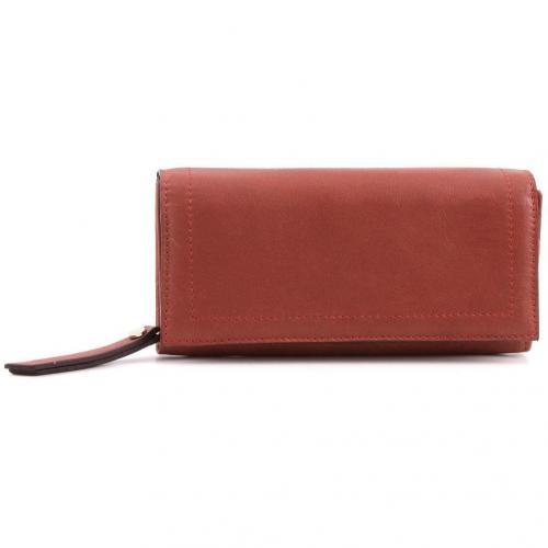 Cashmere Geldbörse Damen Leder braun 18,5 cm von Abro
