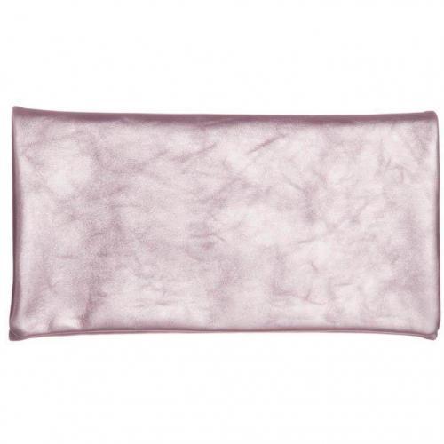 Clutch rosa aus weichem Leider von Abro