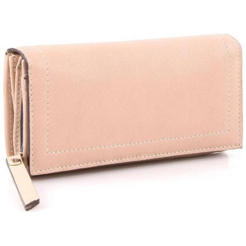 Nappa Geldbörse Damen Leder rosa 18,5 cm von Abro