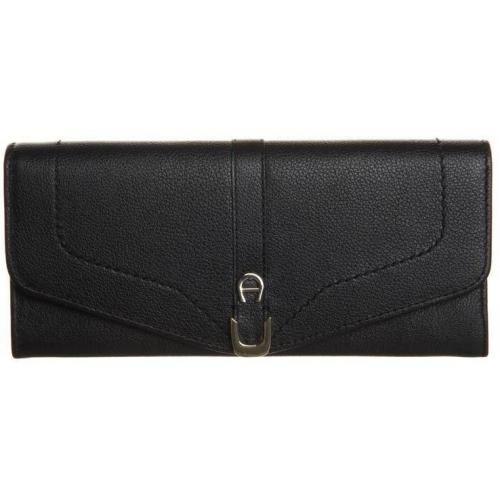 Geldbörse black mit Zipper-Münzfach von Aigner