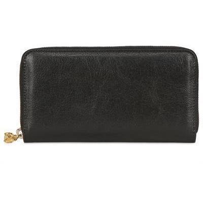 Continental Lederbrieftasche mit Reißverschluss von Alexander McQueen