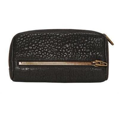 Pebbled Weiche Leder Continental Brieftasche von Alexander Wang