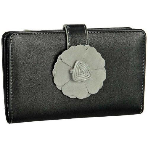 Como (14 cm) Geldbörse offwhite/schwarz von Bodenschatz