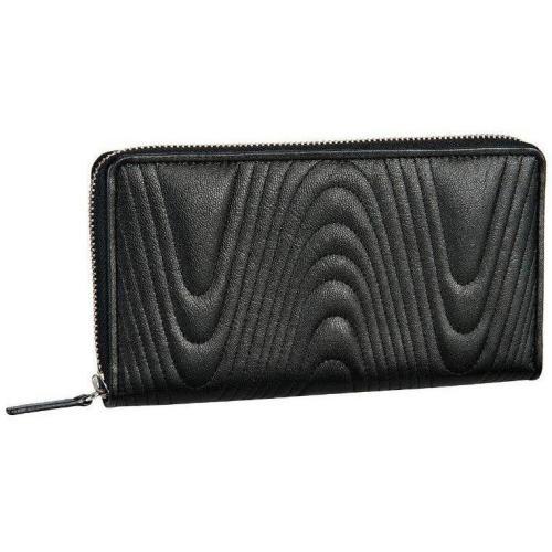 Ischia (20 cm) Geldbörse schwarz von Bodenschatz