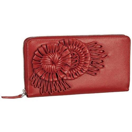 Vittoria (20 cm) Geldbörse red von Bodenschatz