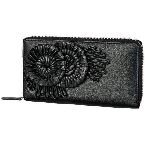 Vittoria (20 cm) Geldbörse schwarz von Bodenschatz