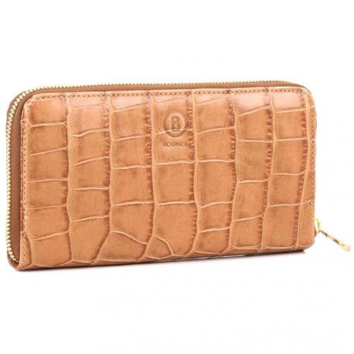 Elements Maxi Money Geldbörse Damen Leder cognac 20 cm von Bogner