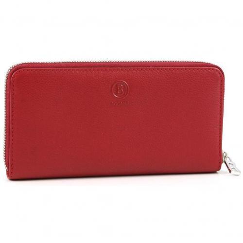 Smart Maxi Money Geldbörse Damen Leder rot 20 cm von Bogner