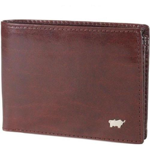 Basic (11 cm) Geldbörse cognac von Braun Büffel