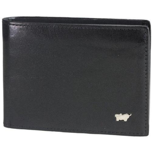 Basic GeldBÖrse (11 cm) Geldbörse schwarz von Braun Büffel