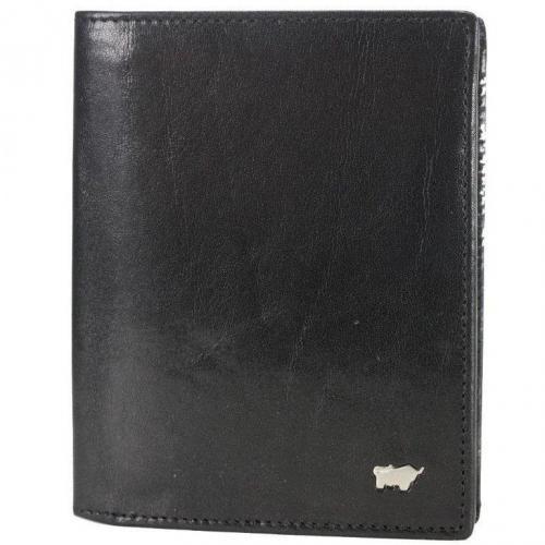 Basic Geldbörse schwarz von Braun Büffel
