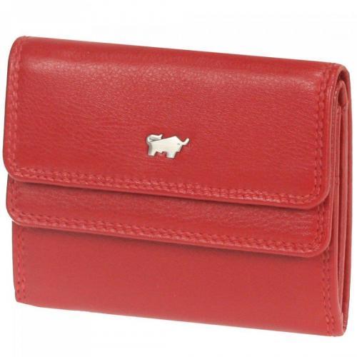 Golf 10 cm Geldbörse rot von Braun Büffel
