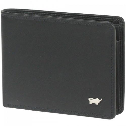 Golf (11,5 cm) Geldbörse schwarz von Braun Büffel