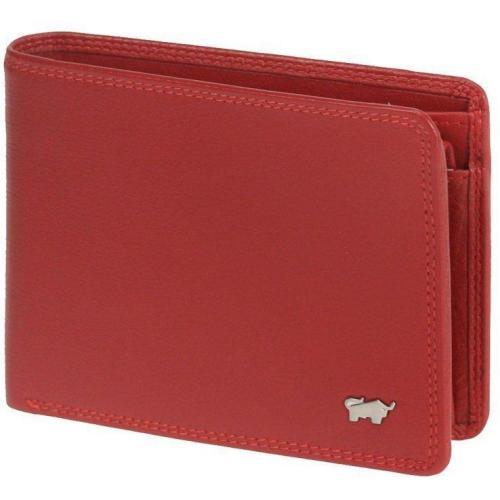 Golf (12,5 cm) Geldbörse rot von Braun Büffel