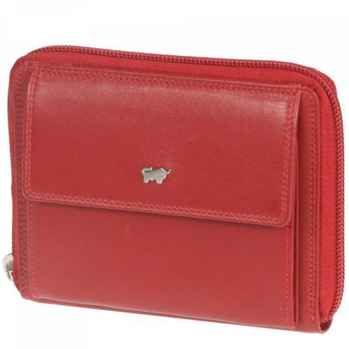 Golf 13,5 Cm Geldbörse rot von Braun Büffel