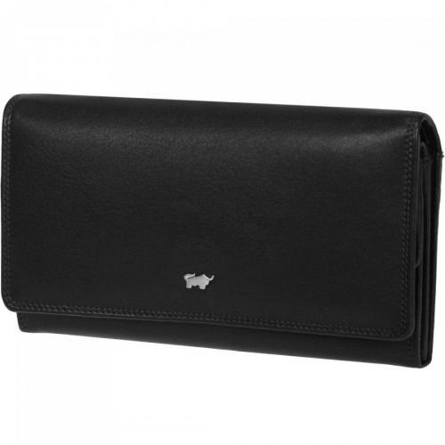 Golf (18 cm) Geldbörse schwarz von Braun Büffel