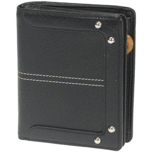 Mellow GeldBÖrse (12 cm) Geldbörse schwarz von Braun Büffel