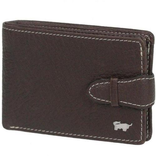 Premium GeldBÖrse (10,5 cm) Geldbörse braun von Braun Büffel