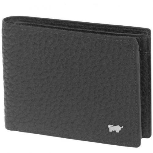 Tough (12,5 cm) Geldbörse schwarz von Braun Büffel
