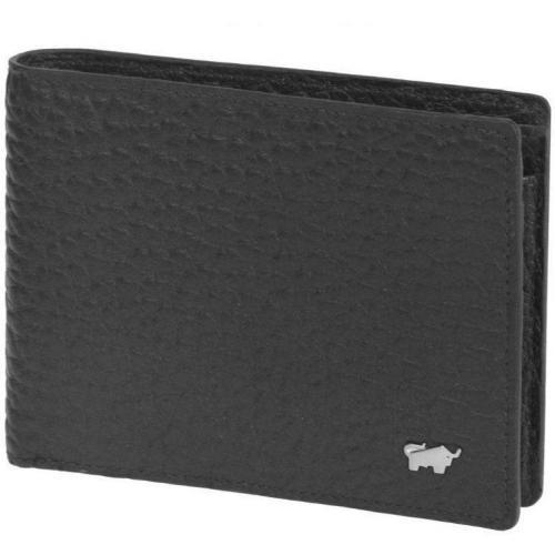 Tough GeldBÖrse (12 cm) Geldbörse schwarz von Braun Büffel