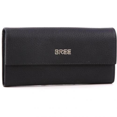 Nola 100 Geldbörse Damen Leder schwarz 19,5 cm von Bree
