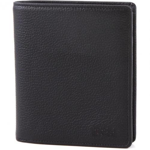 Pocket 113 Geldbörse Leder schwarz 12,5 cm von Bree
