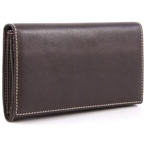 Life Pelle Geldbörse Damen Leder dunkelbraun 19 cm von Bric's