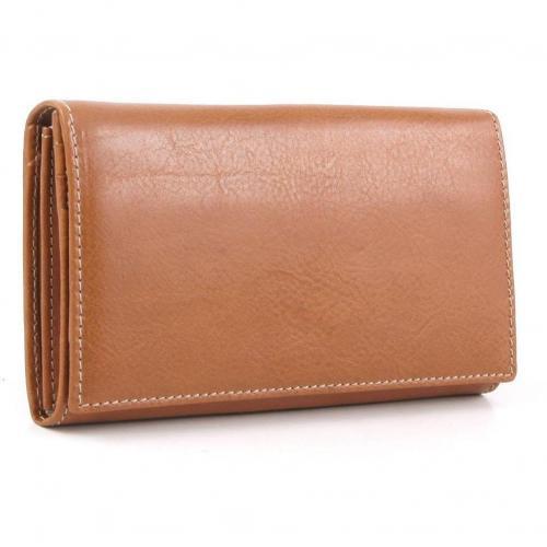 Life Pelle Geldbörse Damen Leder ocker 19 cm von Bric's