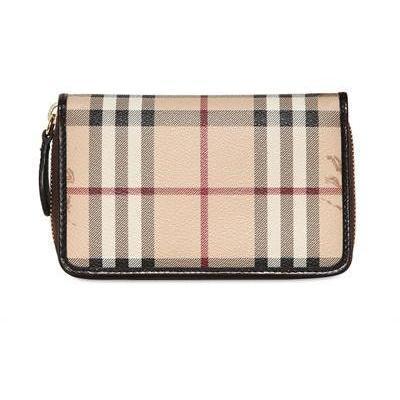 Hanney Haymarket PVC Brieftasche von Burberry