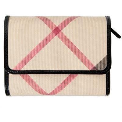 Medium Bellfield Nova PVC Brieftasche von Burberry