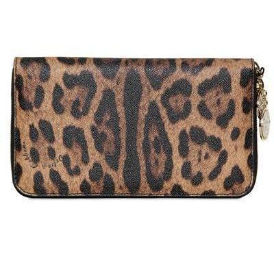 Miss Astrid Leo Druck PVC Clutch Tasche von Dolce & Gabbana