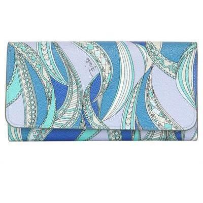 Zagare Brieftasche aus PVC mit Druck von Emilio Pucci