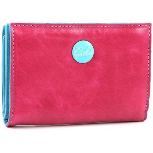 Gmoney 14 Geldbörse Damen Leder pink 14 cm von Gabs