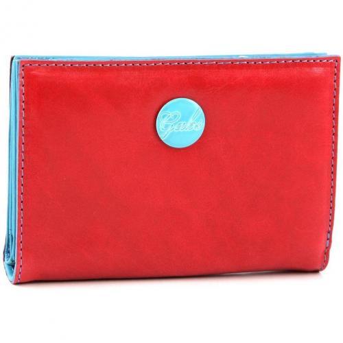 Gmoney 14 Geldbörse Damen Leder rot 14 cm von Gabs