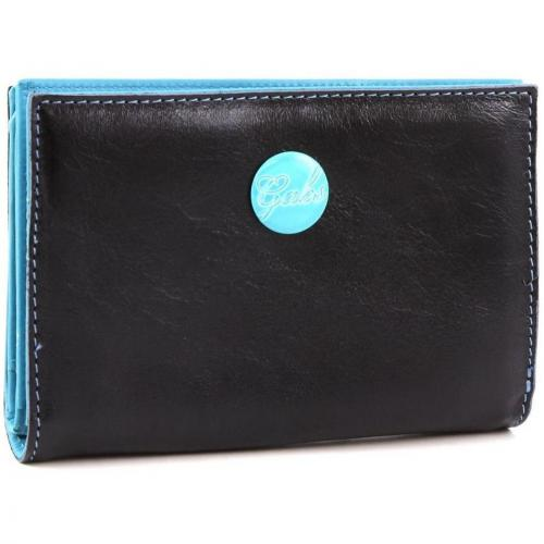 Gmoney 14 Geldbörse Damen Leder schwarz 14 cm von Gabs
