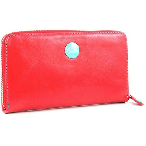 Gmoney 17 Geldbörse Damen Leder rot 19 cm von Gabs
