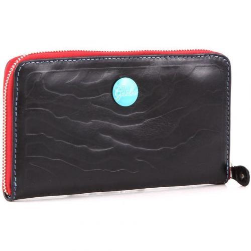 Gmoney 17 Geldbörse Damen Leder schwarz 19 cm von Gabs