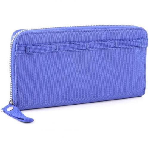 Cash More Geldbörse Damen blau 21 cm von George Gina & Lucy