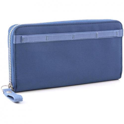 Cash More Geldbörse Damen blaugrau 21 cm von George Gina & Lucy