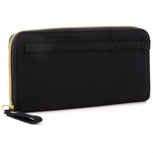 Cash More Geldbörse Damen schwarz 21 cm von George Gina & Lucy