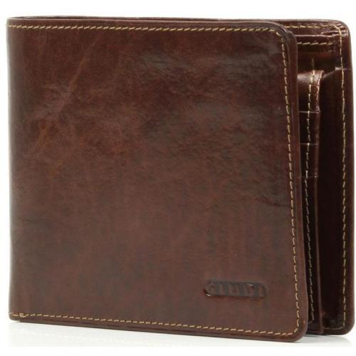 Geldbörse Leder braun 12,5 cm von Giudi