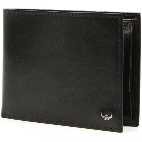 Colorado Geldbörse Leder schwarz 9,5 cm von Golden Head