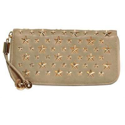 Filipa Brieftasche aus Leder mit Sternen von Jimmy Choo