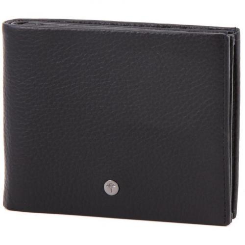 Men Minos Geldbörse Leder schwarz 13 cm von JOOP!