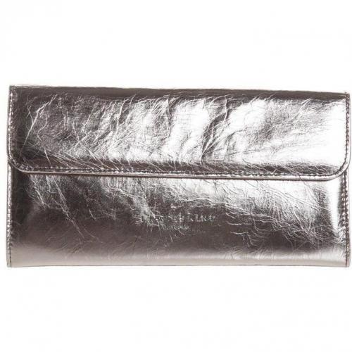 liebeskind maria clutch grau metallic la bourse. Black Bedroom Furniture Sets. Home Design Ideas