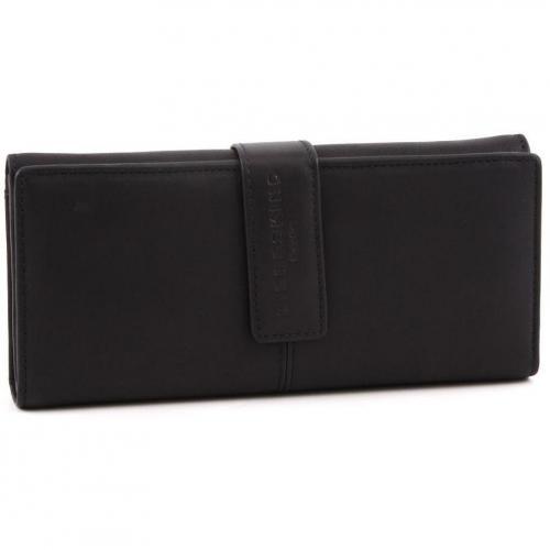 Pull Up Leather Leonie Geldbörse Damen Leder schwarz 19,5 cm von Liebeskind