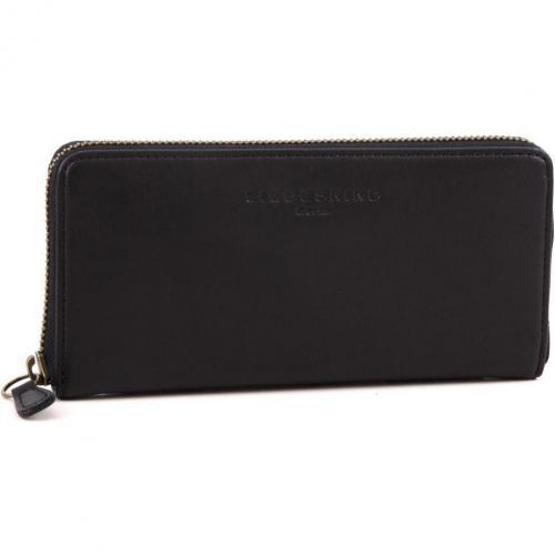 Pull Up Leather Sally Geldbörse Damen Leder schwarz 18,5 cm von Liebeskind