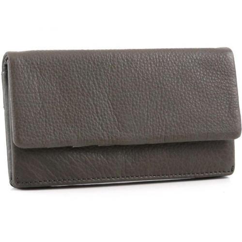 Vintage Slam Geldbörse Damen Leder grau 18 cm von Liebeskind